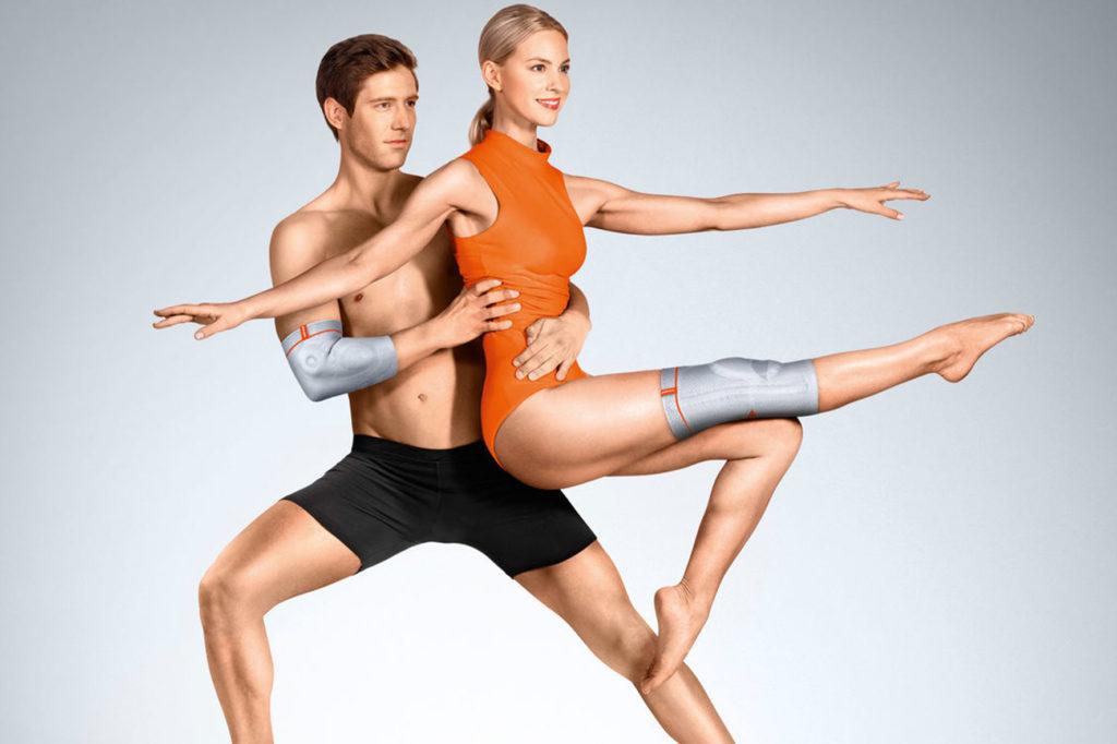 Bandagen für Ellenbogen und Knie