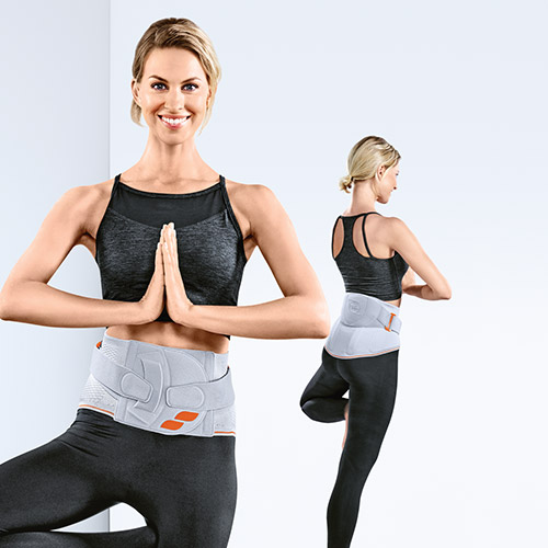 Bandage für Rückenschutz